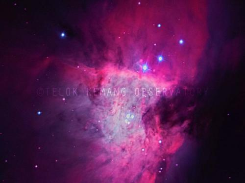 Center Orion Nebula