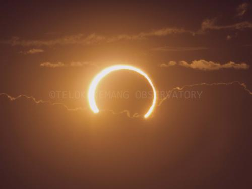 Annular Solar Eclipse 2013