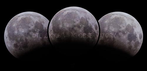 Maximum Partial Lunar Eclipse